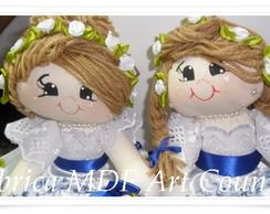 Kit com duas bonecas daminha