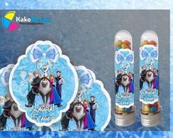R�tulo tubete Frozen