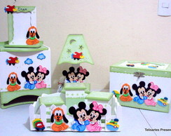 Kit Beb� Baby Disney verde