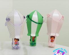 Bal�o de Papel 3D Dora Aventureira