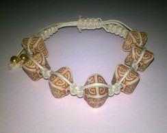Pulseira Off White Tribal