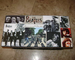 Caixa para CD's Beatles
