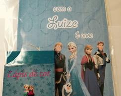 Kit de colorir Frozen