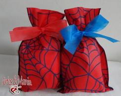 Sacola De Tnt Estampado - Homem Aranha