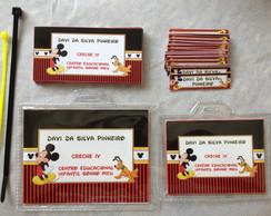 Kit Etiquetas e Tags: Mickey