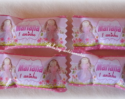 balinha boneca de pano rosa 1