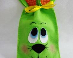 Saco Lembrancinha Pascoa Verde