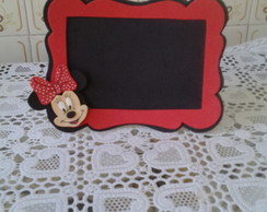 Porta retrato/minnie/eva