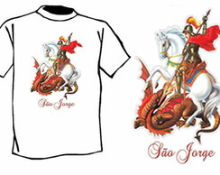 Camiseta Cat�lica S�o Jorge - JPRC 100