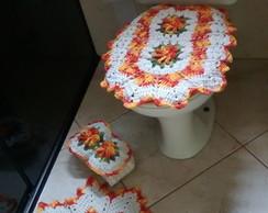 Jogo de banheiro 4 pe�as