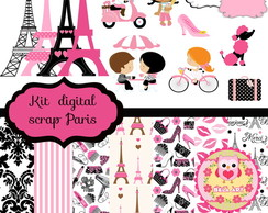 Kit de scrap digital Paris