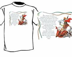 Camiseta S�o Jorge c/ ora��o - JPRC 147