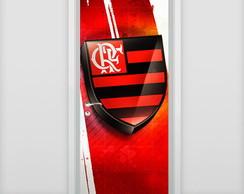 Adesivo de porta - Flamengo