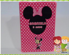mini estojo minnie personalizado