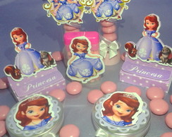 Kit Princesa Sofia 3D - 40P�
