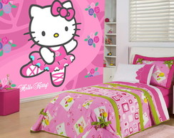 Papel de Parede Infantil Hello Kitty m�
