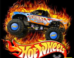 Papel de Parede Infantil Hot Wheels m�
