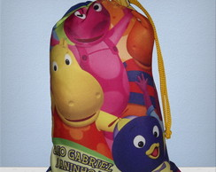Saquinho backyardigans 17x25