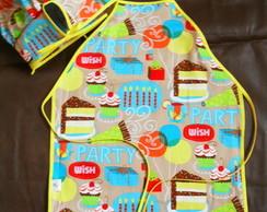 kit infantil em tecido 100% algod�o