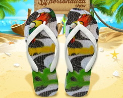 Chinelo Personalizado - Tropical 03