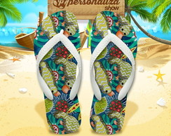 Chinelo Personalizado - Tropical 04