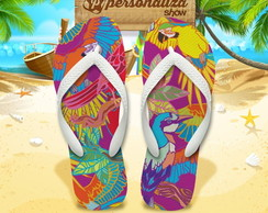 Chinelo Personalizado - Tropical 05