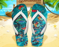 Chinelo Personalizado - Tropical 09