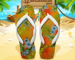 Chinelo Personalizado - Tropical 20