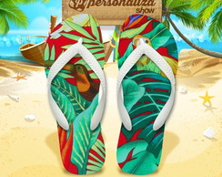 Chinelo Personalizado - Tropical 21