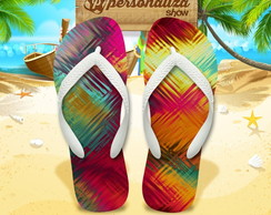 Chinelo Personalizado - Tropical 24