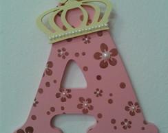 Letra decorada - Coroa