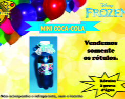 R�tulo De Mini Coca-cola