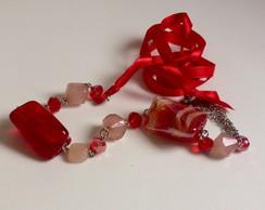 Conjunto Love Rock Cherry