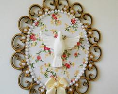 Relic�rio Divino Esp�rito Santo - floral