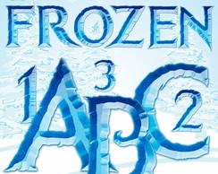 Frozen Letras Digital AlfaNum�rico 065B