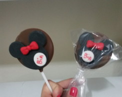 Pirulito de chocolate Minnie