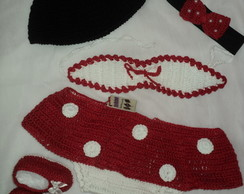 Conjunto Minnie de Croch�