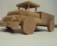 Caminh�o decora��o brinquedo de madeira