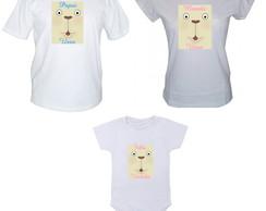 Camisetas Fam�lia Urso