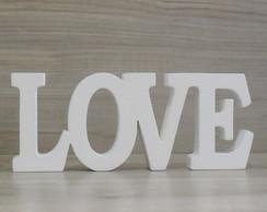 Palavra decorativa LOVE - linha BK