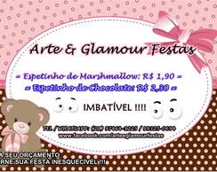 Espetinho Marshmallow - Arte & Glamour