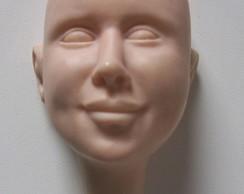 Molde rosto unissex (Grande)
