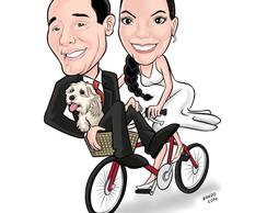 Caricatura para casamento