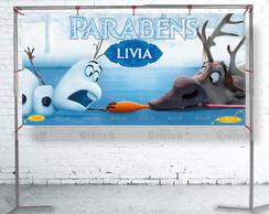 Painel FROZEN - Festa Infantil - 098 ArT