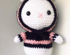 Bunny Gurumi Black and Pink