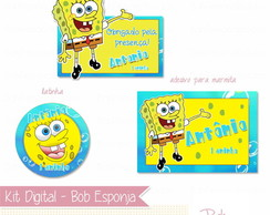 Kit Digital - Bob Esponja