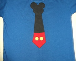 Camiseta Gravata do Mickey