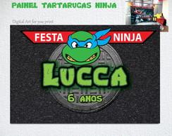 Tartarugas Ninja Painel Digital