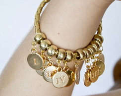Pulseira 10 Mandamentos Gold Royal