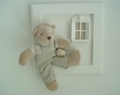 (MO 0281) Quadro maternidade urso